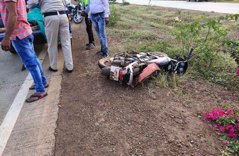 road accident video: रफ्तार का कहर, कार ने तीन लडक़ों को मौत के घाट उतारा