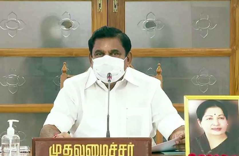 तमिलनाडु में 35 प्रतिशत लोग मास्क नहीं पहनते: मुख्यमंत्री पलनीस्वामी