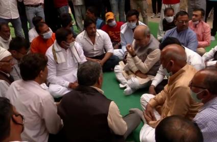 Haryana : निकिता के परिवार से मिले परिवहन मंत्री मूलचंद शर्मा, न्याय  का दिया भरोसा