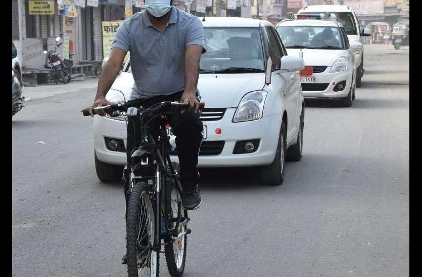 भीलवाड़ा कलक्टर क्यूं साइकिल ले कर सड़क पर उतर आए, पढि़ए