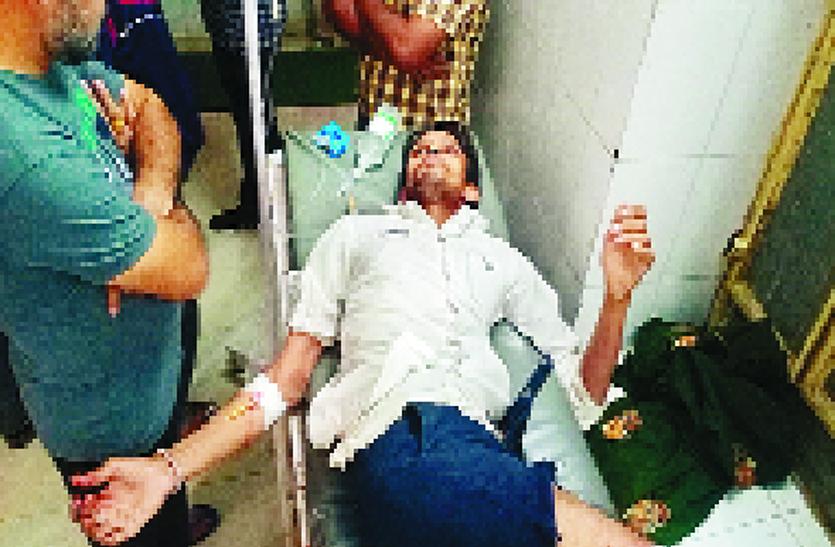 Shahpura Bullet Case : पिता-पुत्र पर दागी गोलिया, आमजन भयभीत
