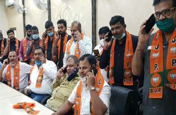 नगर निगम चुनाव के बीच बिहार विधानसभा चुनाव की भी रंगत, प्रवासी बिहारी यहीं से कर रहे वोट अपील