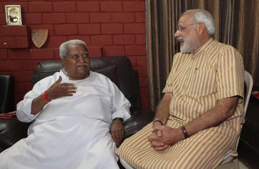 Keshubhai Patel : केशूबापा के निधन पर पीएम मोदी ने कहा, दुखी हूं, स्तब्ध हूं, उनका जाना किसी पिता तुल्य के जाने की तरह