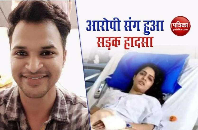 एक्ट्रेस Malvi Malhotra पर हमला करने वाले प्रड्यूसर की पलटी कार, चाकू मारकर हुआ था फरार