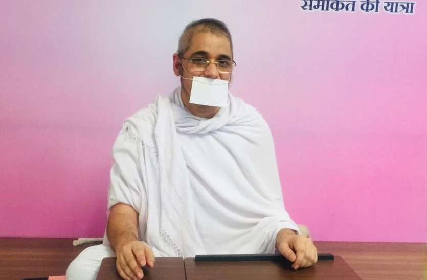 प्रभु वाणी के पीछे न भय है न लोभ है-डॉ. समकित मुनि