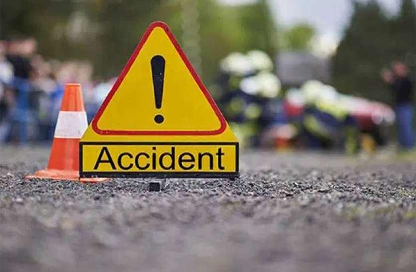 दर्दनाक: ट्रक ने बाइक को लिया चपेट में, हादसे में एक ही परिवार के तीन लोगों की मौत