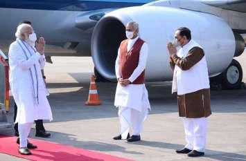 PM Modi in Gujarat: प्रधानमंत्री मोदी पहुंचे अहमदाबाद, दो दिनों का है गुजरात दौरा