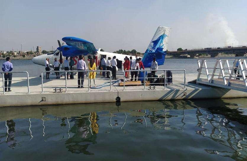 Gujarat news : 'सी' प्लैन के लिए तैयार की है मरीन टेक ने जेट्टी
