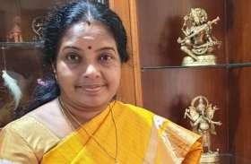 वनाथी श्रीनिवासन बनी भाजपा राष्ट्रीय महिला मोर्चा अध्यक्ष