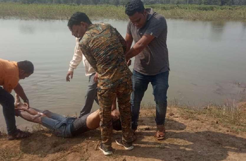तालाब में डूबने से 1 महिला 2 युवकों की मौत