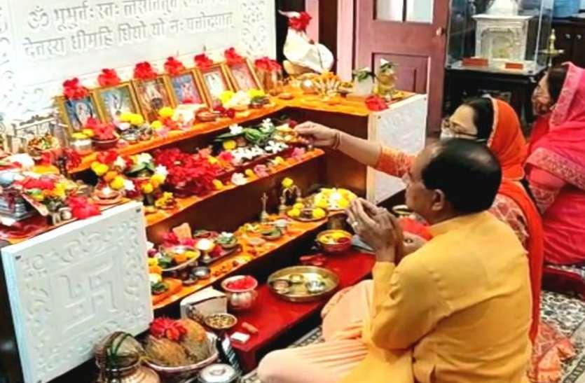 Kamal Nath and Shivraj singh reached the shelter of God