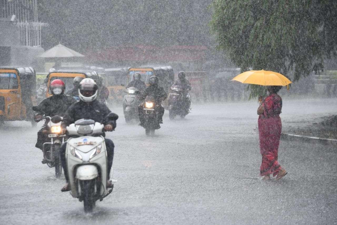 Monsoon arrives Mandla, Seoni, jabalpur reach in 48 hours