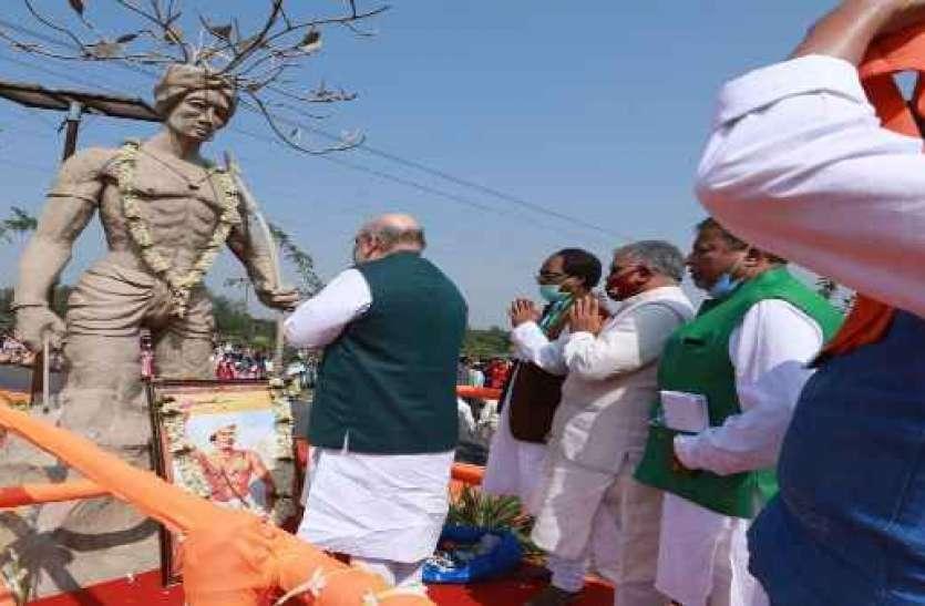Mission Bengal: एक मूर्ति पर माल्यार्पण से TMC के निशाने पर आए शाह, जानें क्यों बढ़ रहा है विवाद