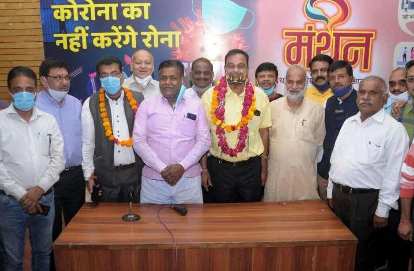 डीआरयूसीसी में सुनील तो एसआरयूसीसी में दीपक जीते