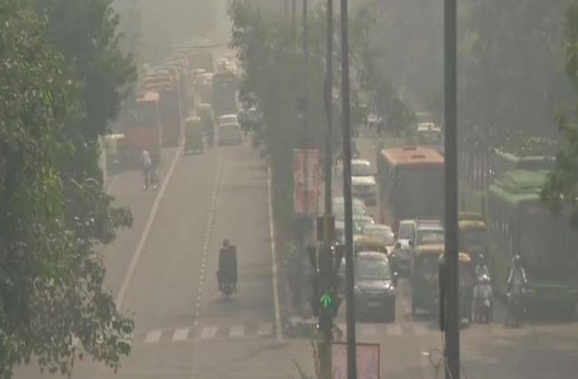 Delhi NCR में जारी है प्रदूषण की मार, AQI 450 के पार