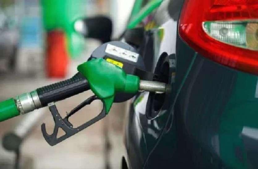 क्रूड ऑयल की कीमत में तेजी के कारण पेट्रोल और डीजल के दाम आसमान पर