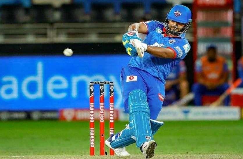 IPL 2020:  दिल्ली के 3 विकेट गिरे, 13 ओवर में बनाए 99 रन