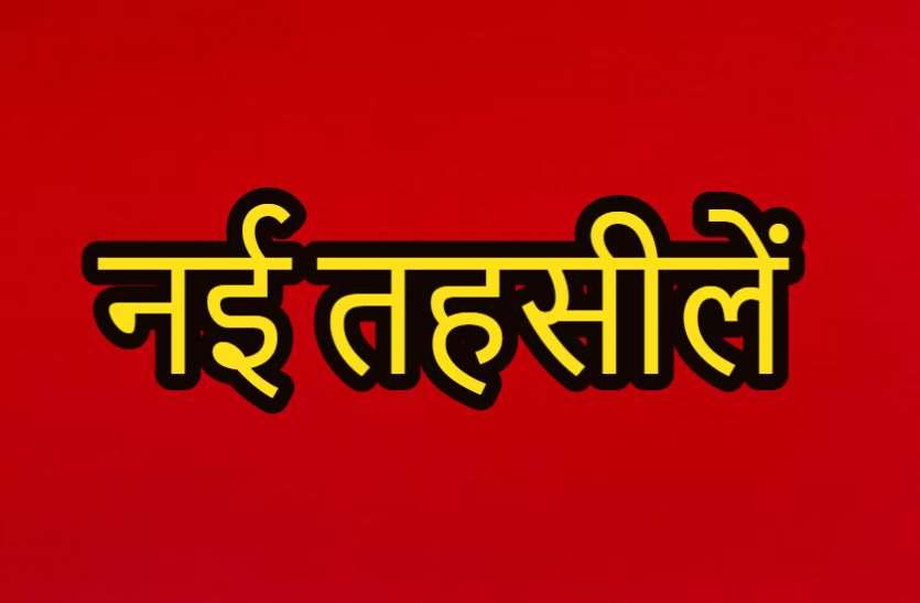 बिलासपुर जिले में बनेंगे नए तहसील, बोदरी, सीपत और कई नाम शामिल