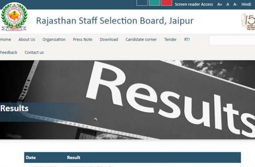 RSMSSB: ईसीजी टेक्नीशियन भर्ती परीक्षा के परिणाम जारी, यहां से करें चेक
