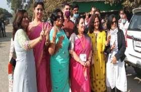 सपा को मुस्लिम बाहुल्य सीट से हराकर पहली महिला विधायक बनीं संगीता चौहान, बोलीं- पूरे करूंगी पति के वादे