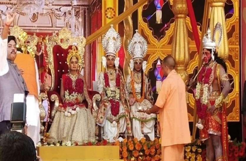 त्रेता युग की कल्पना से सजी राम नगरी भगवान के आगमन का इंतजार