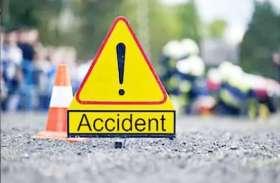 सड़क हादसा : तेज रफ्तार बाइकों की टक्कर से तीन युवकों की मौत