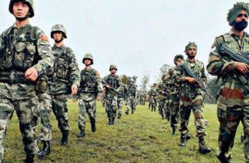 भारत और चीन की सेनाएं पीछे हटने के दौरान नए ढांचे को खत्म करेंगी! चर्चा जारी