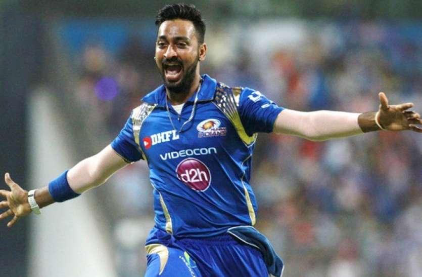 मुंबई एयरपोर्ट पर डीआरआई ने क्रिकेटर क्रुणाल पांड्या को रोका