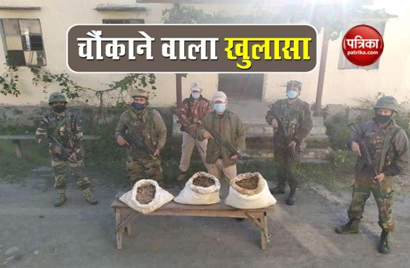 मणिपुर से देश में बिकने के लिए तैयार 287 करोड़ रुपये की ब्राउन शुगर जब्त