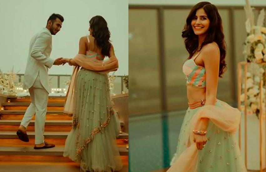 'बम डिगी डिगी' गर्ल Sakshi Malik ने की बायफ्रेंड संग सगाई, आंखों पर पट्टी बांधे आई रिंग पहनने
