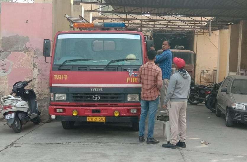 श्रीगंगानगर में पटाखों पर प्रतिबंध के बावजूद दौड़ेगी दमकल