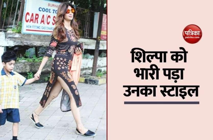 जब बिना पैंट पहने एक्ट्रेस Shilpa Shetty दिखाई दी थीं सड़कों पर, फिर से वायरल हुई तस्वीर