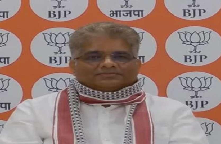 भूपेन्द्र यादव को भाजपा ने फिर सौंपी गुजरात प्रभारी की कमान