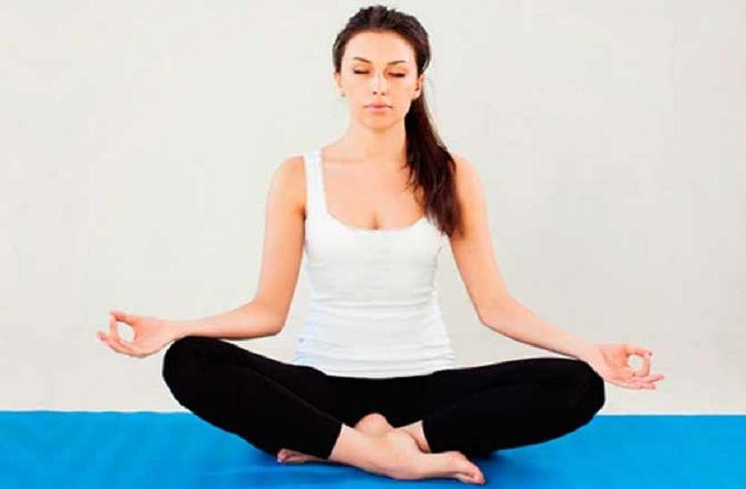 नियमित योग से हृदय की समस्या व लो बीपी से होता बचाव