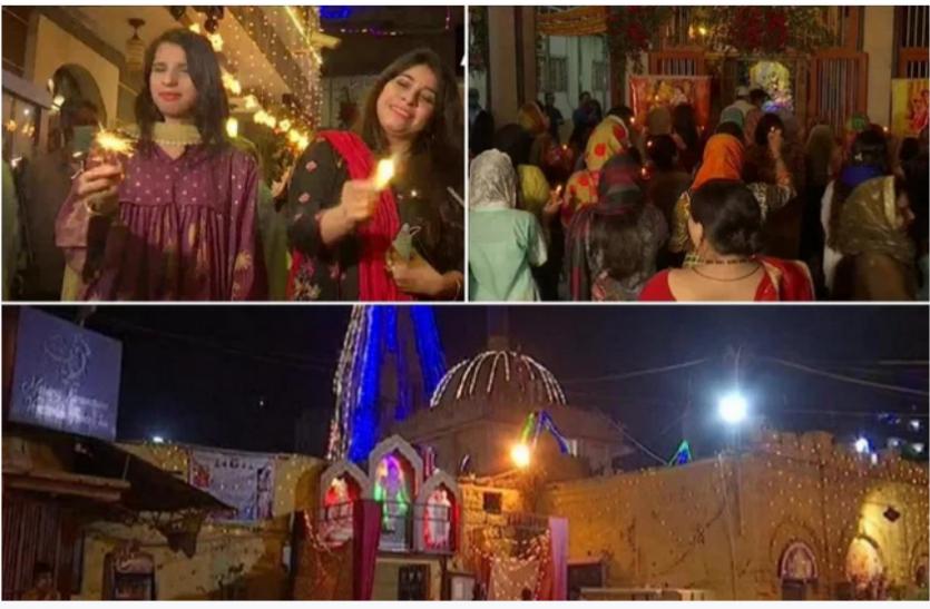 Pakistan में हिन्दुओं ने धूमधाम से मनाई दीपावली, प्रधानमंत्री इमरान खान ने दी बधाई