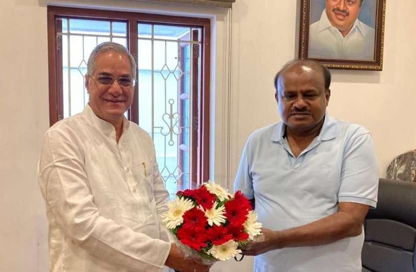 भाजपा और जद-एस में बढ़ रही सियासी नजदीकियां!
