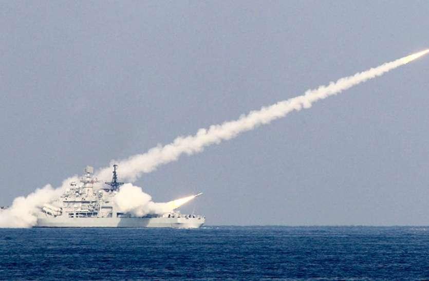 चीनी मिसाइलों ने गश्त कर रहे पोतों को किया तबाह, PLA की चेतावनी
