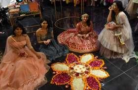 खुशी और उल्लास से मनाया दीपावली का त्योहार...