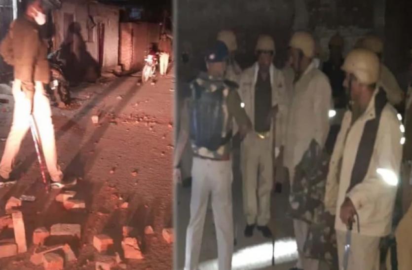 कानपुर में 2 समुदायों के बीच हिंसक झड़प, 1 की मौत, इलाके में तनाव