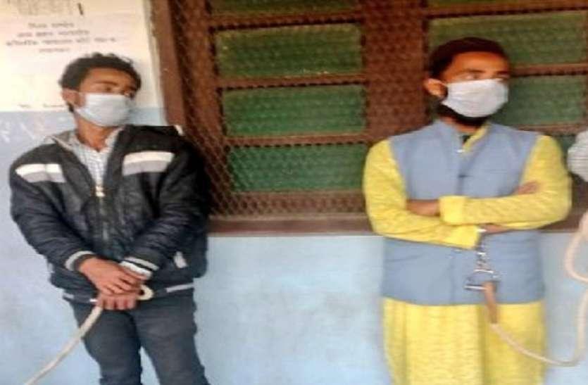 यूपी के सहारनपुर से दाे संदिग्ध आतंकी गिरफ्तार, एटीएस कर रही पूछताछ