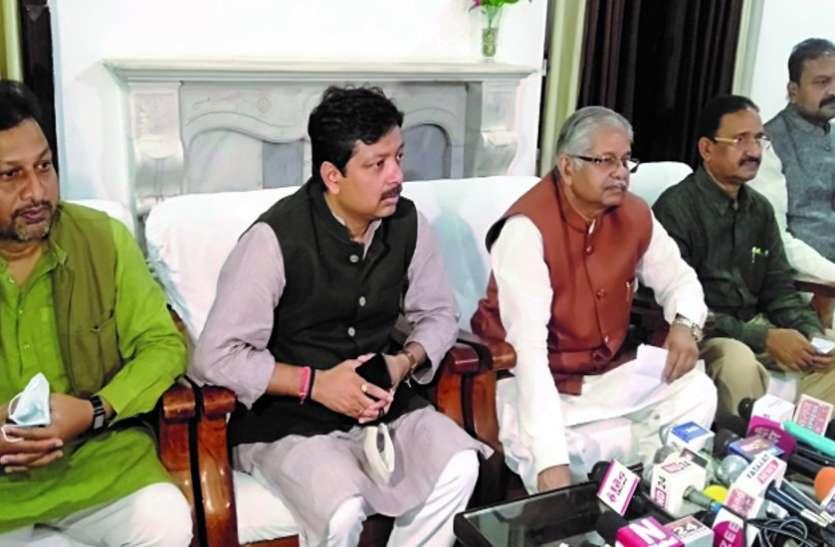 नेता प्रतिपक्ष धरमलाल बोले- प्रदेश में बिचौलियों व माफियाओं को संरक्षण देने में लगी है सरकार