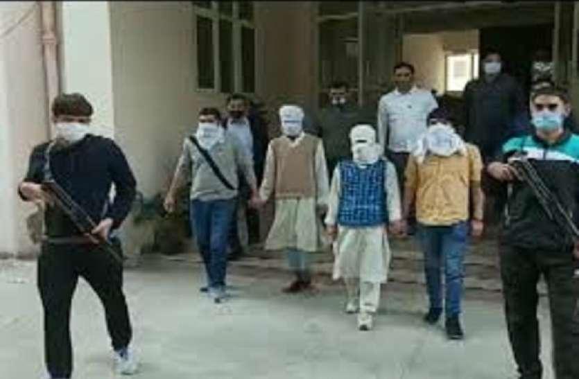 दिल्ली में जैश-ए-मोहम्मद के दो संदिग्ध आतंकवादी गिरफ्तार