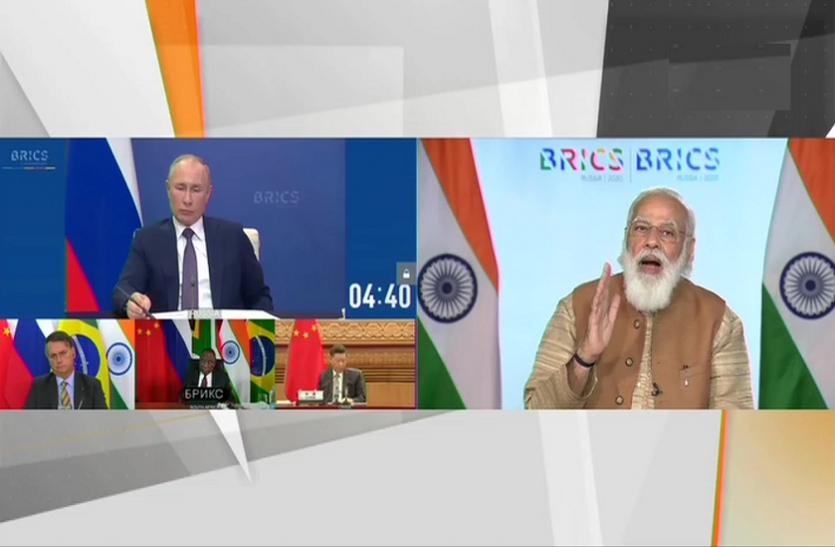 BRICS में PM Modi के निशाने पर PAK- आतंकियों को पालने वाले देशों का विरोध जरूरी