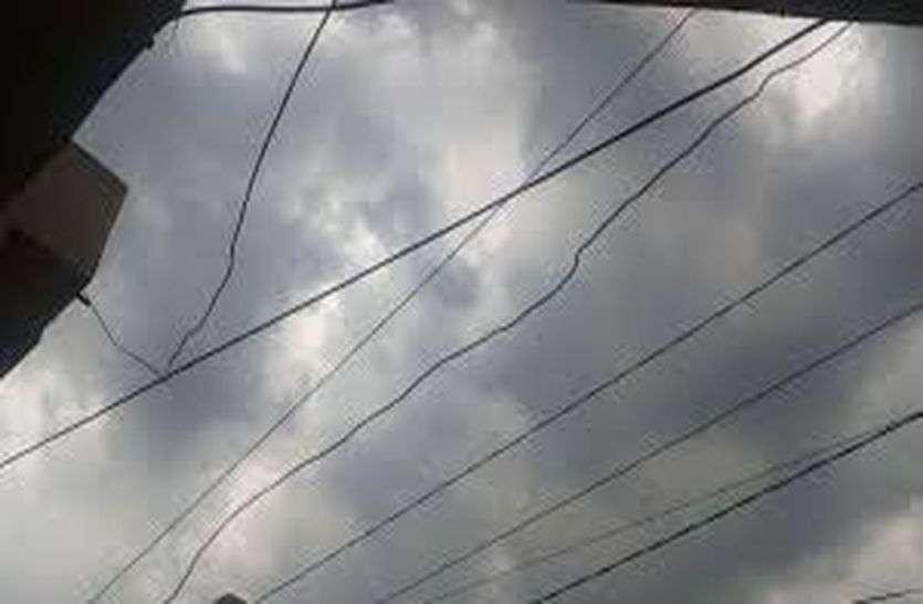 दिन भर छाए बादल, मावठ की आशंका