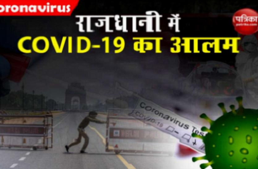Delhi में Coronavirus का कहर जारी, 24 घंटे में 6,396 नए मामले रिकॉर्ड