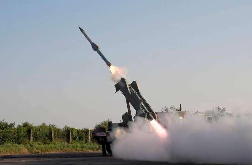 भारत ने नई मिसाइल क्यूआरसैम का सफल परीक्षण किया