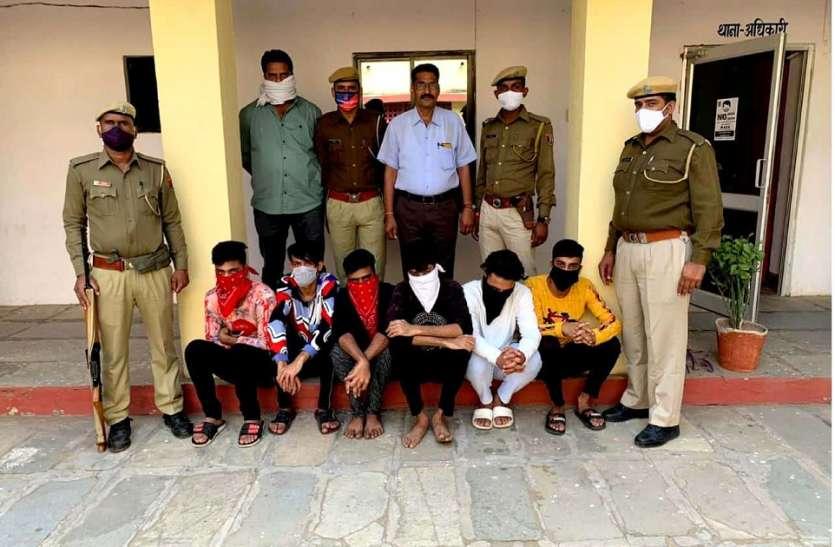 जानलेवा हमले के अन्य 6 आरोपी गिरफ्तार