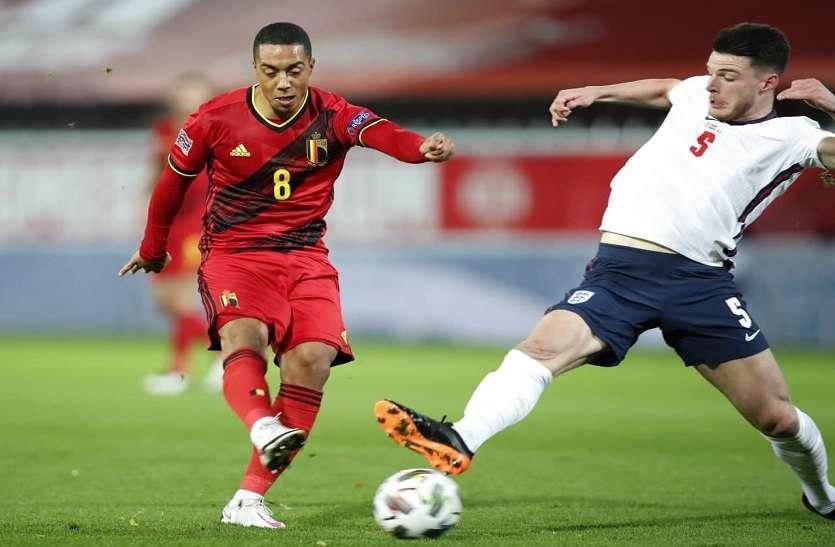 नेशनल लीग फाइनल्स : बेल्जियम 2-0 से जीता, फाइनल की दौड़ से बाहर इंग्लैंड