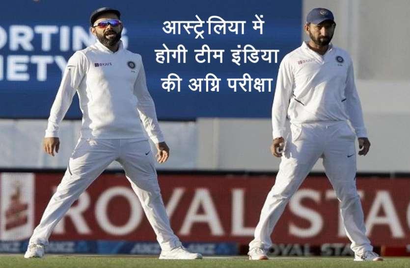 आस्ट्रेलिया के खिलाफ टेस्ट सीरीज में होगी भारतीय टीम की कड़ी परीक्षा: पोटिंग
