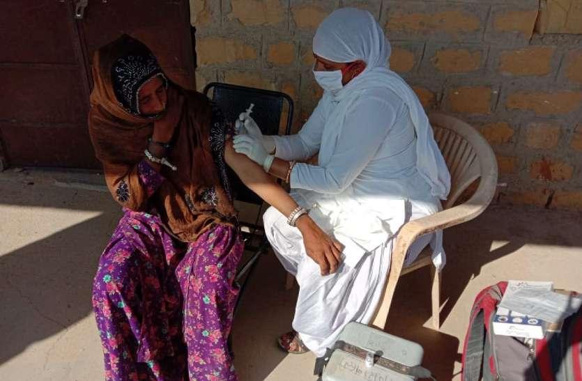 239 गर्भवती महिलाओं व 1,229 बच्चों का टीकाकरण